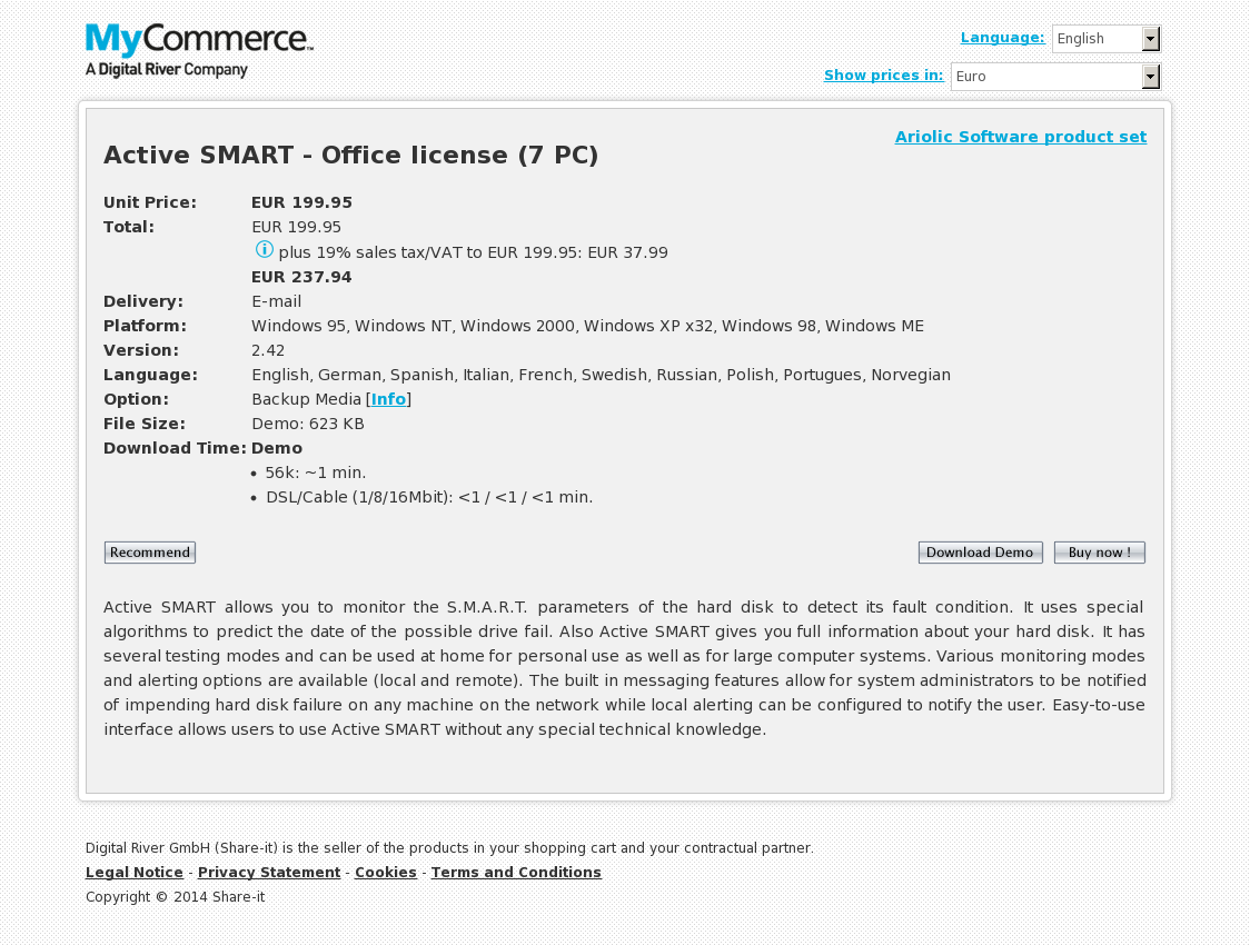 Active SMART - Office license (7 PC)