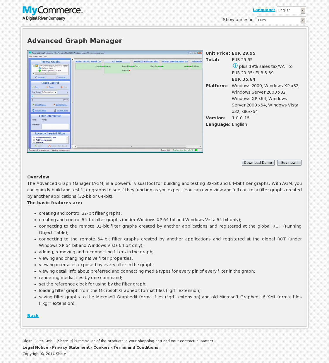 Advanced Graph Manager