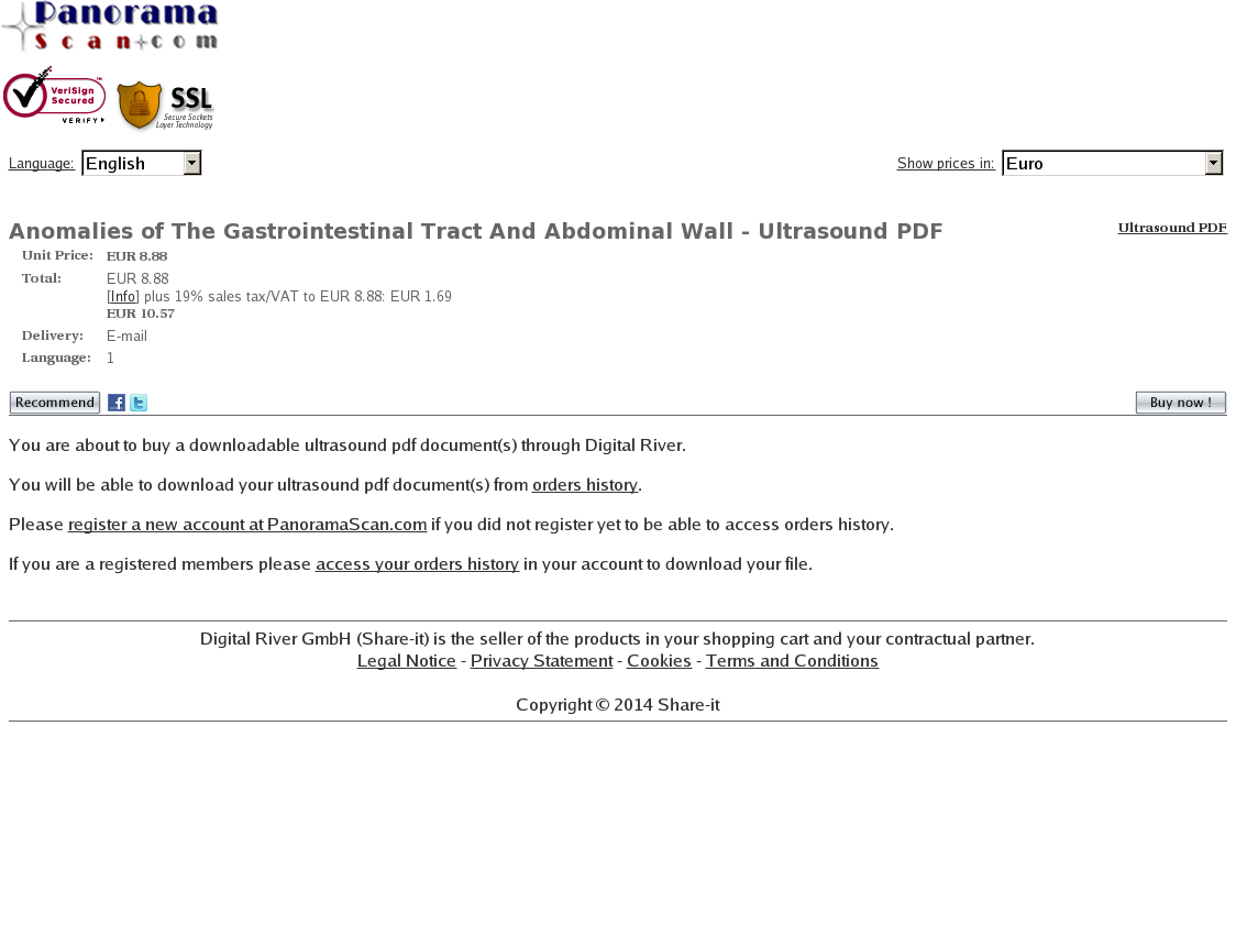 Anomalies of The Gastrointestinal Tract And Abdominal Wall - Ultrasound PDF