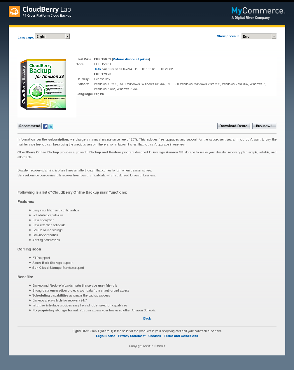 Backup for Linux Ultimate Edition NR