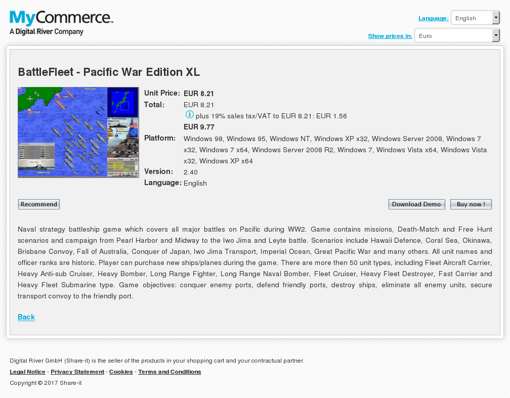 BattleFleet - Pacific War Edition XL