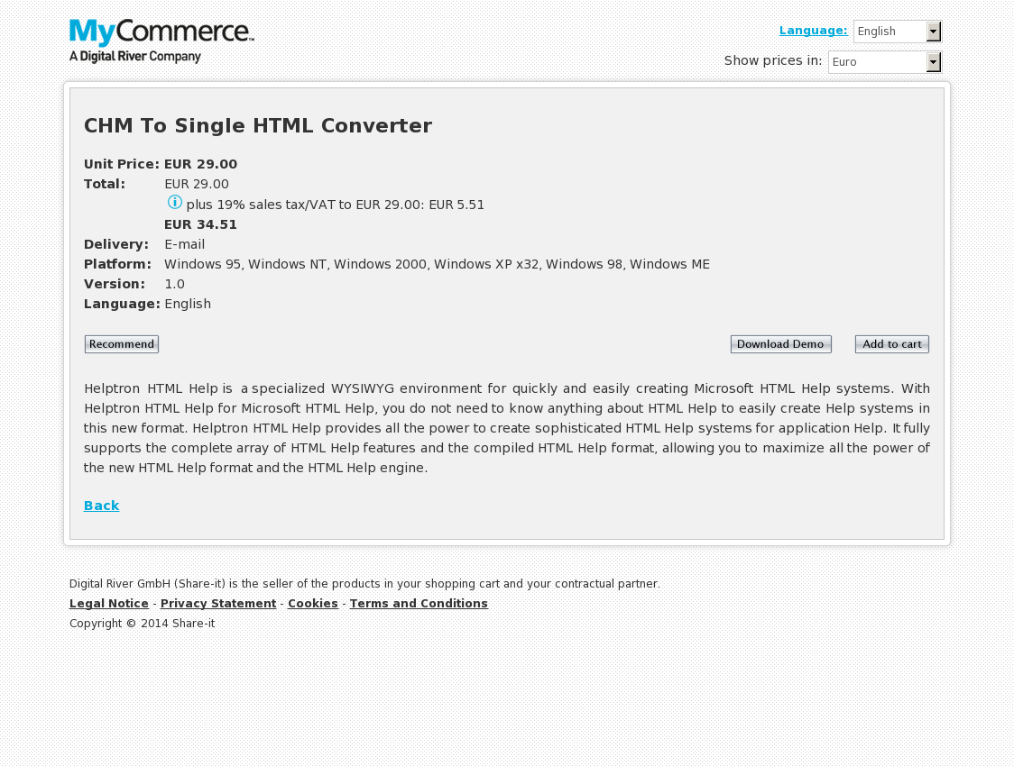 CHM To Single HTML Converter