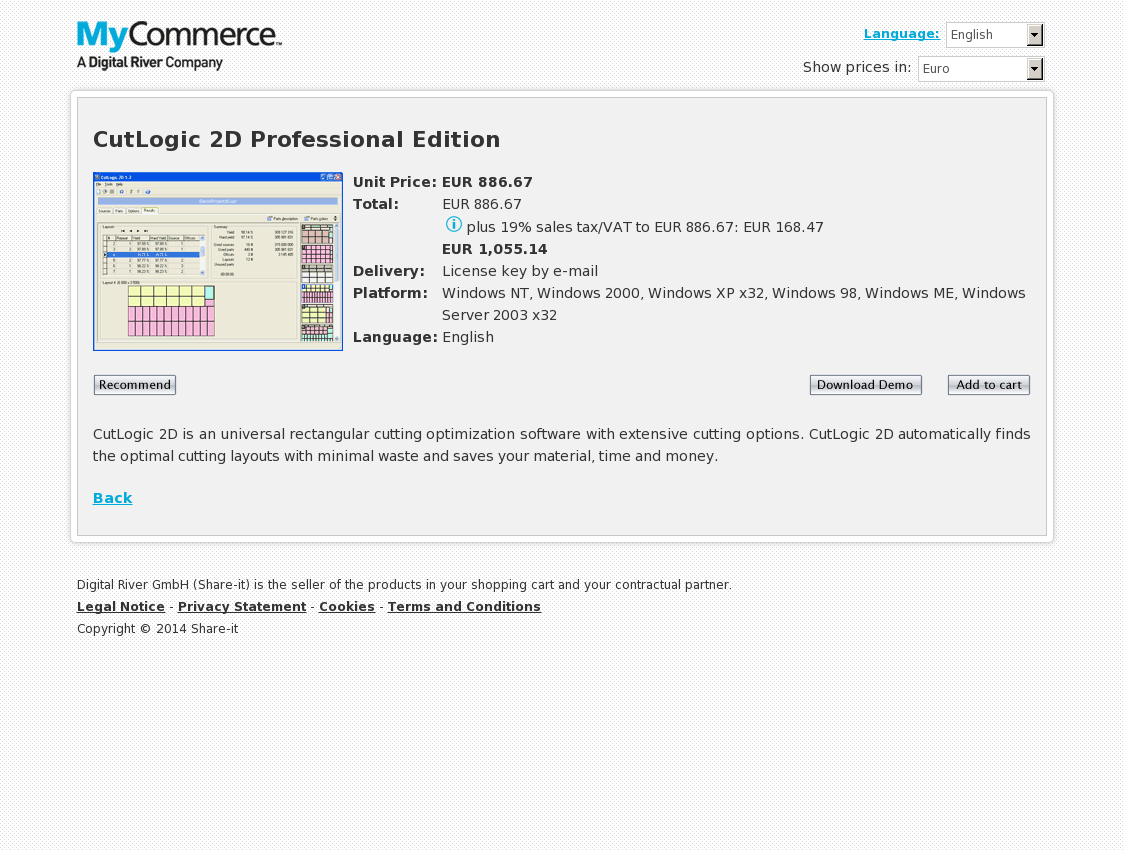 CutLogic 2D Professional Edition