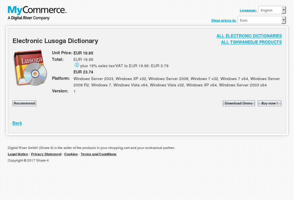 Electronic Lusoga Dictionary