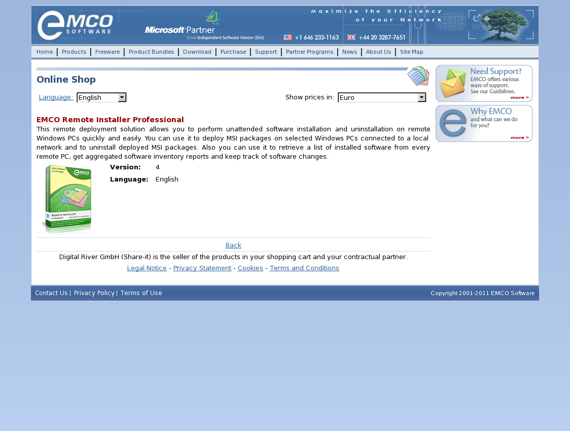 EMCO Remote Installer Professional