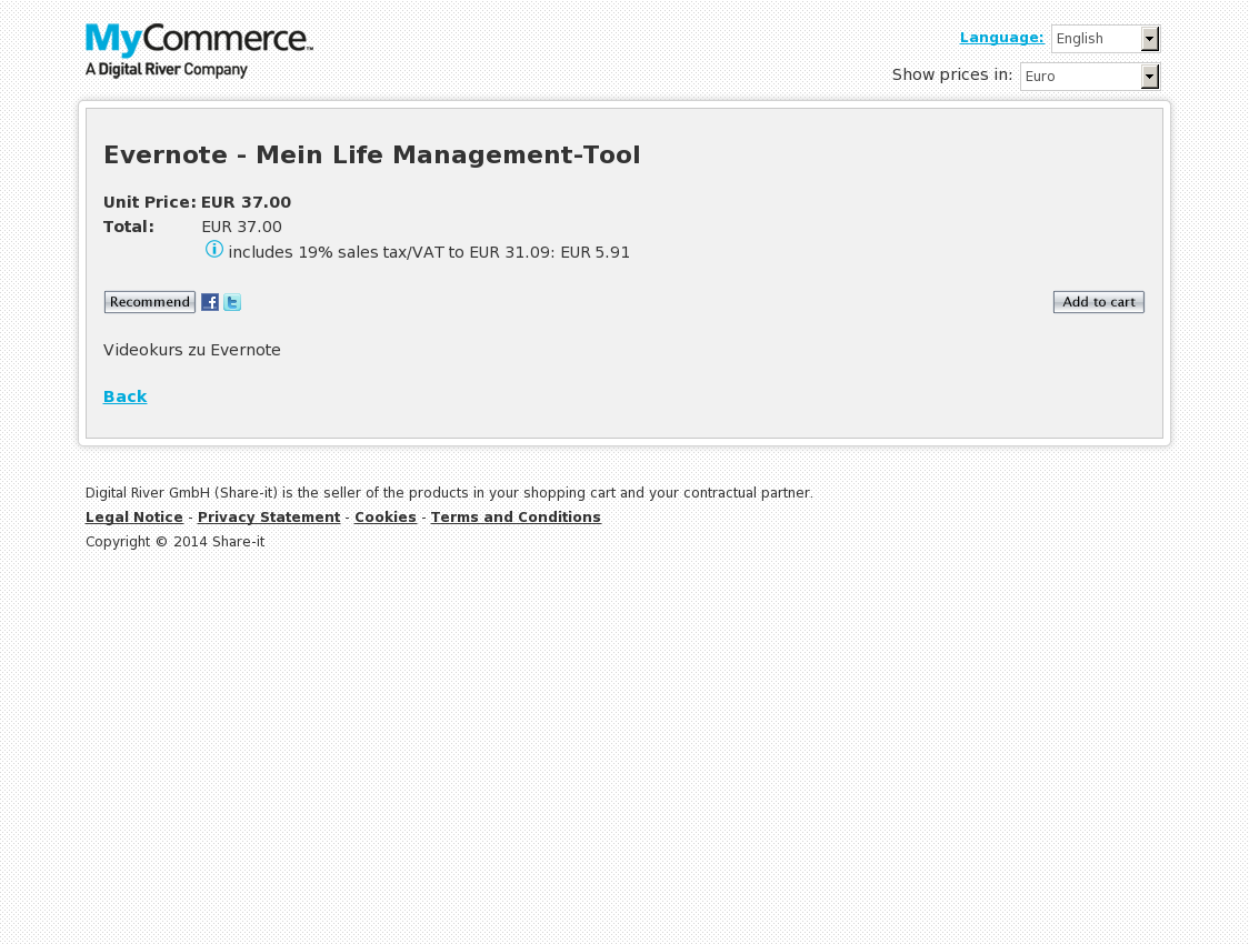 Evernote - Mein Life Management-Tool