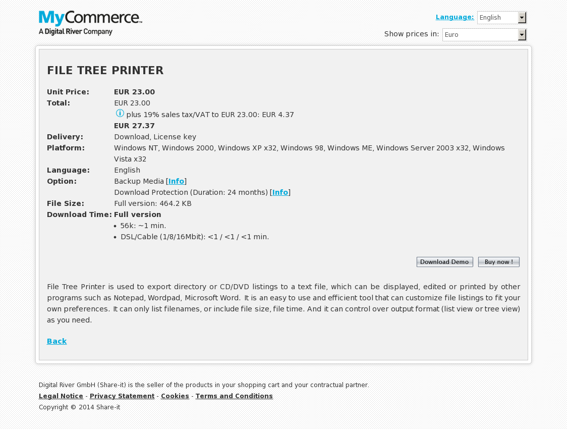 FILE TREE PRINTER