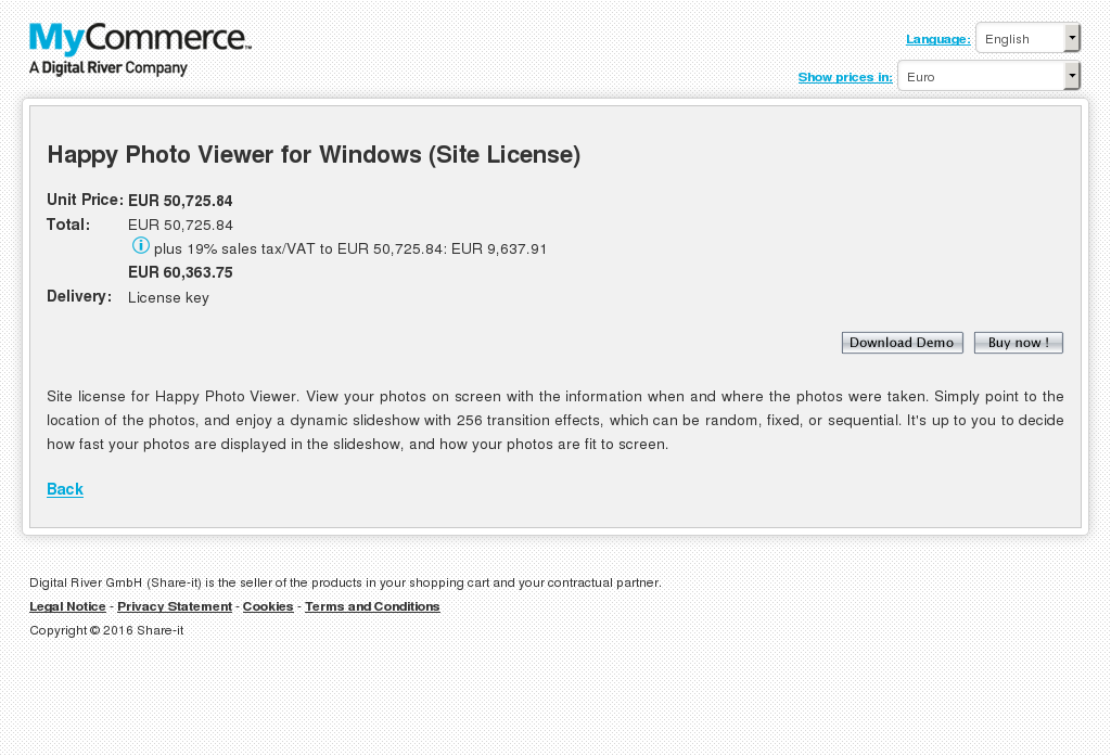 Happy Photo Viewer for Windows (Site License)
