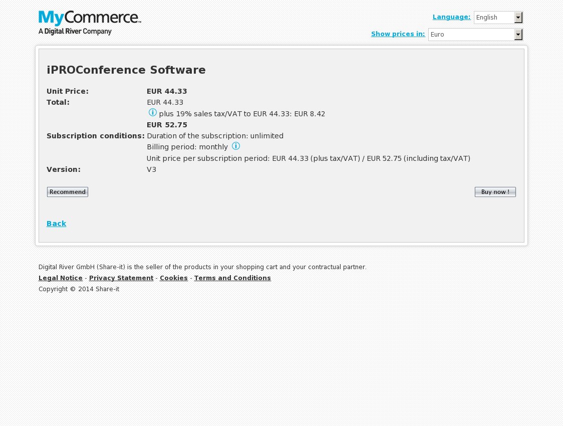 iPROConference Software