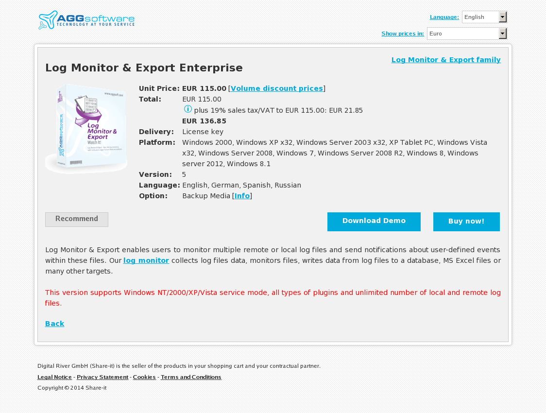 Log Monitor & Export Enterprise