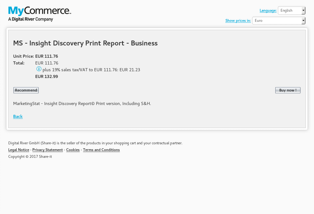 MS - Insight Discovery Print Report - Business