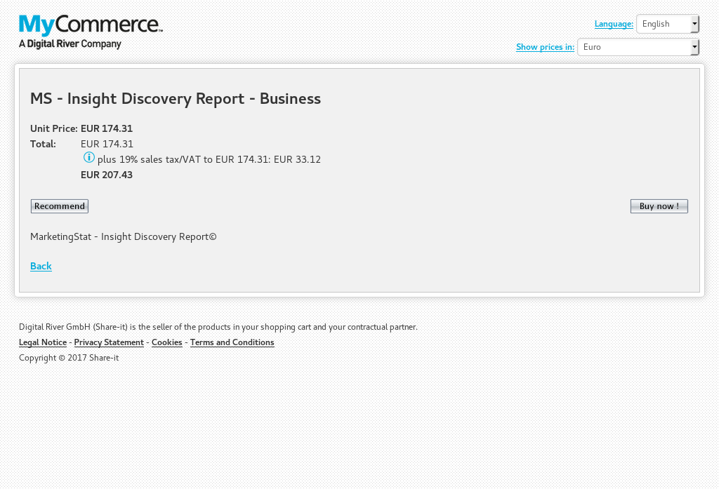 MS - Insight Discovery Report - Business