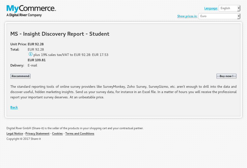 MS - Insight Discovery Report - Student