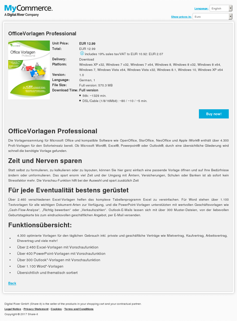 OfficeVorlagen Professional