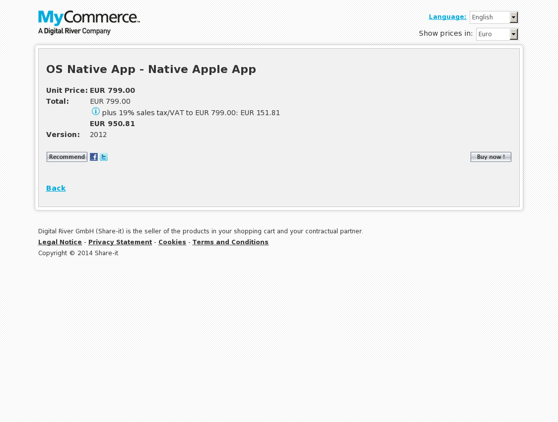 OS Native App - Native Apple App