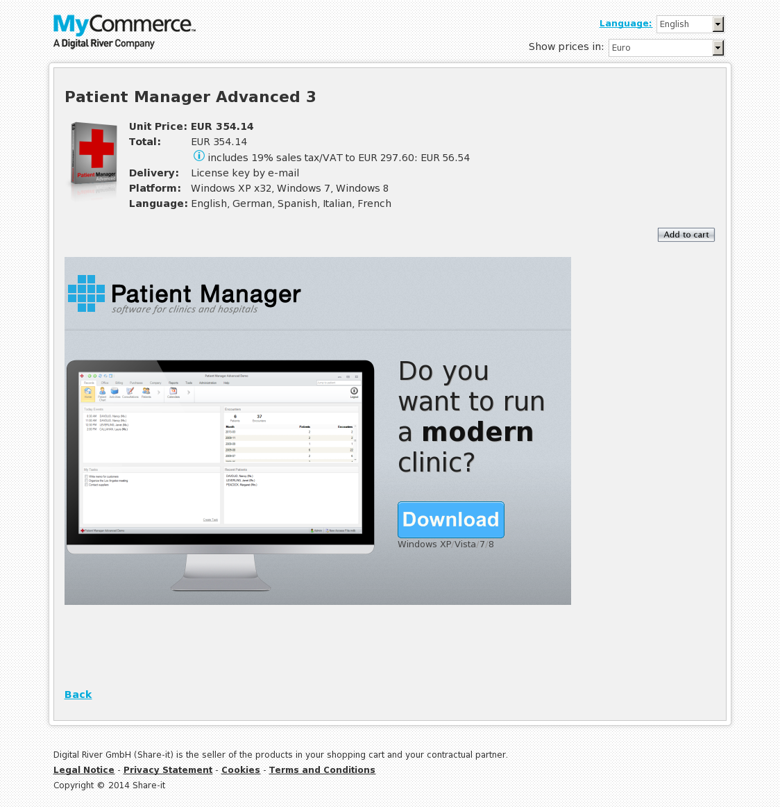 Patient Manager Advanced 3