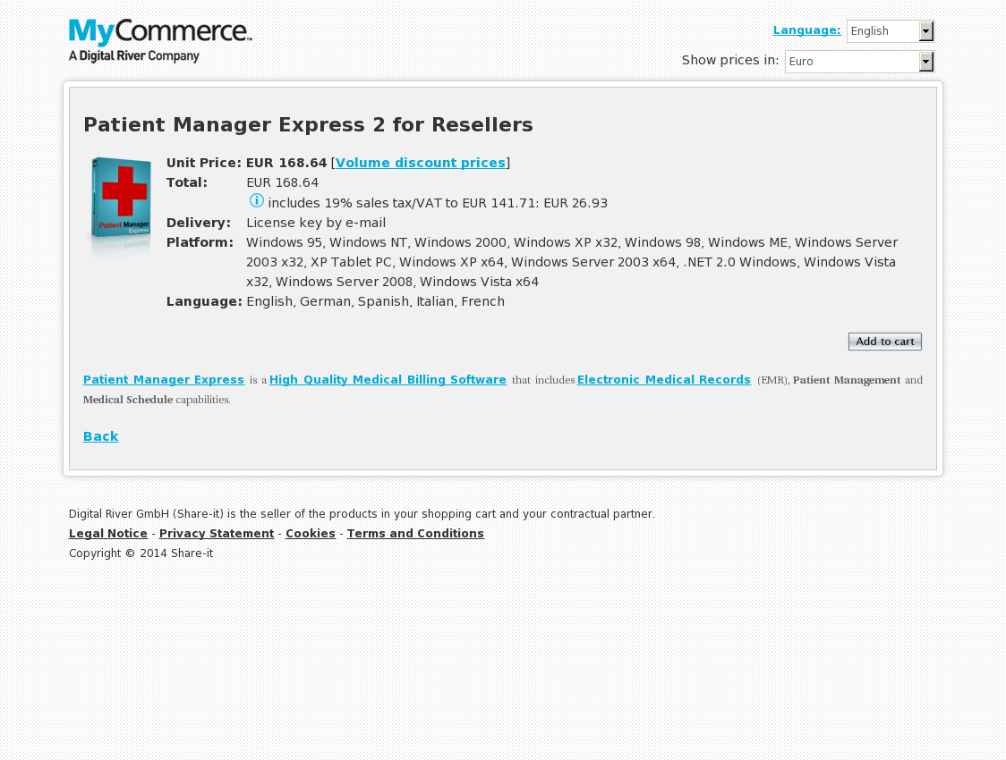 Patient Manager Express 2 for Resellers