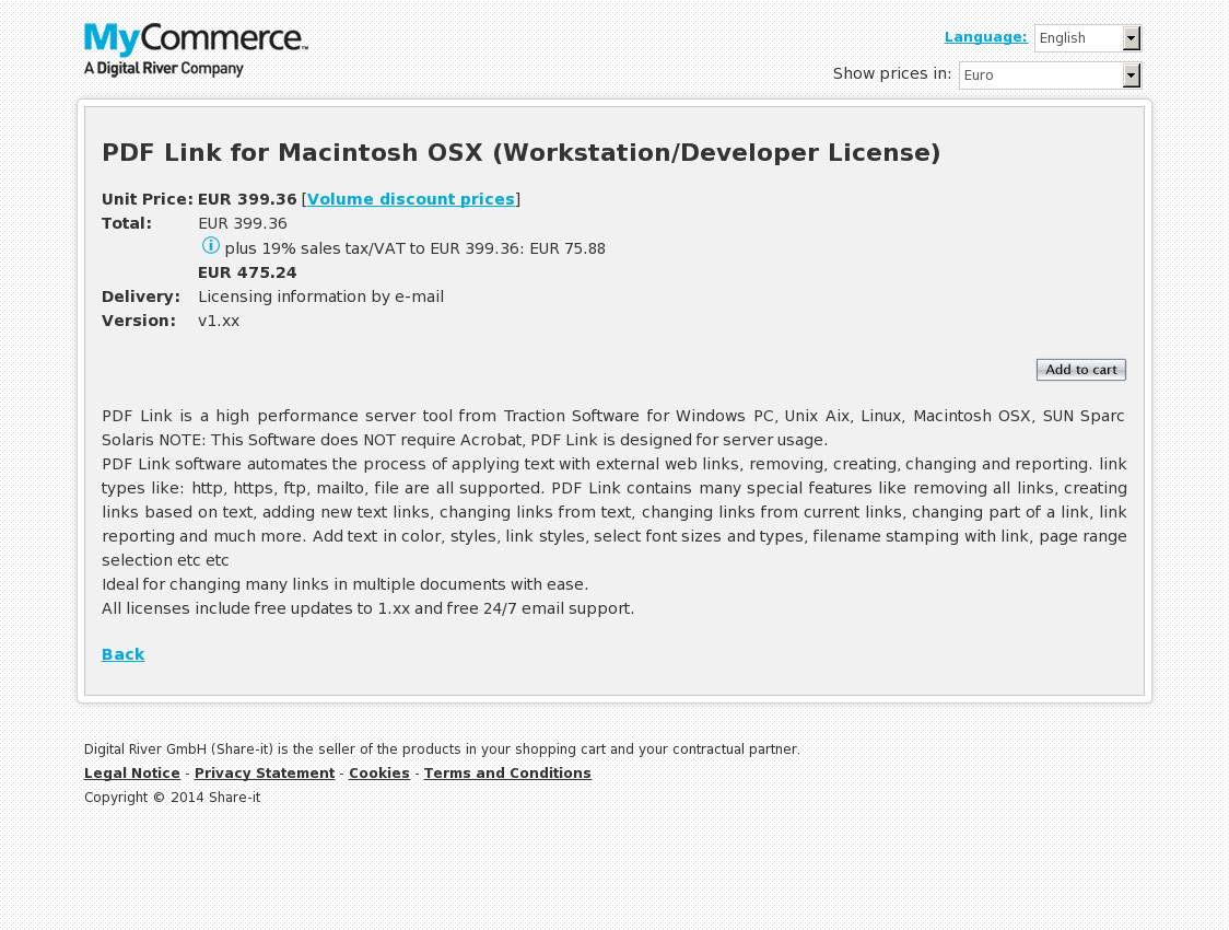 PDF Link for Macintosh OSX (Workstation/Developer License)