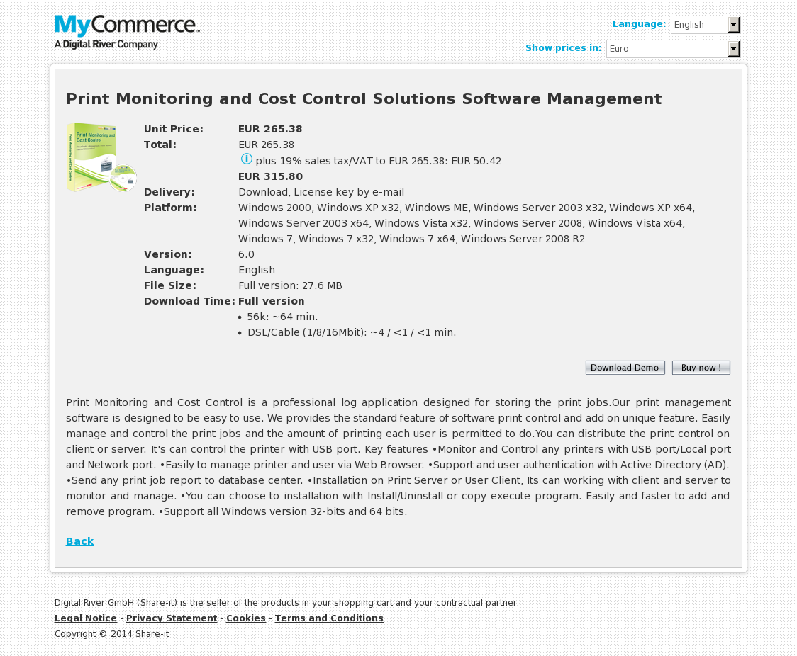 Print Monitoring and Cost Control Solutions Software Management