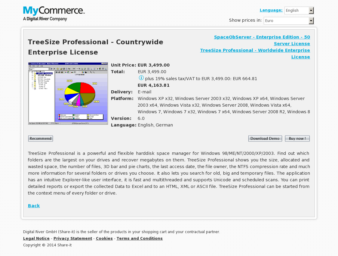 TreeSize Professional - Countrywide Enterprise License
