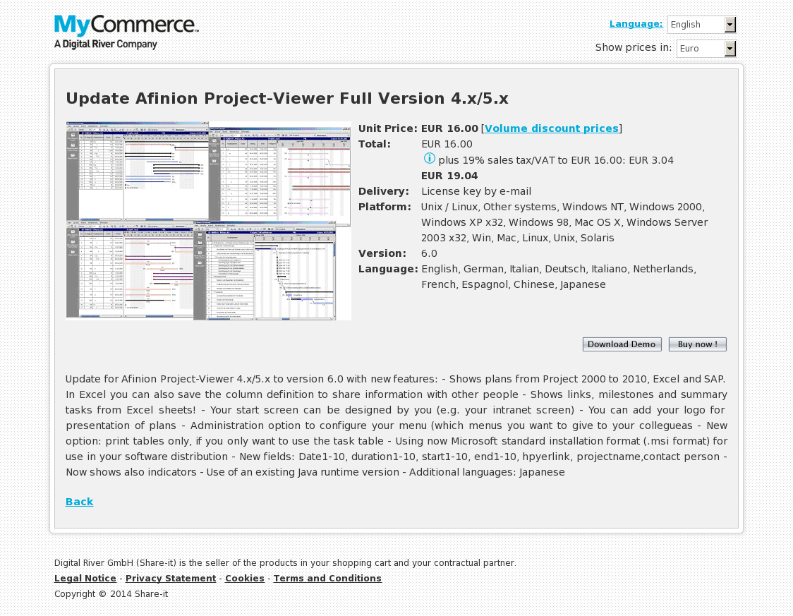 Update Afinion Project-Viewer Full Version 4.x/5.x