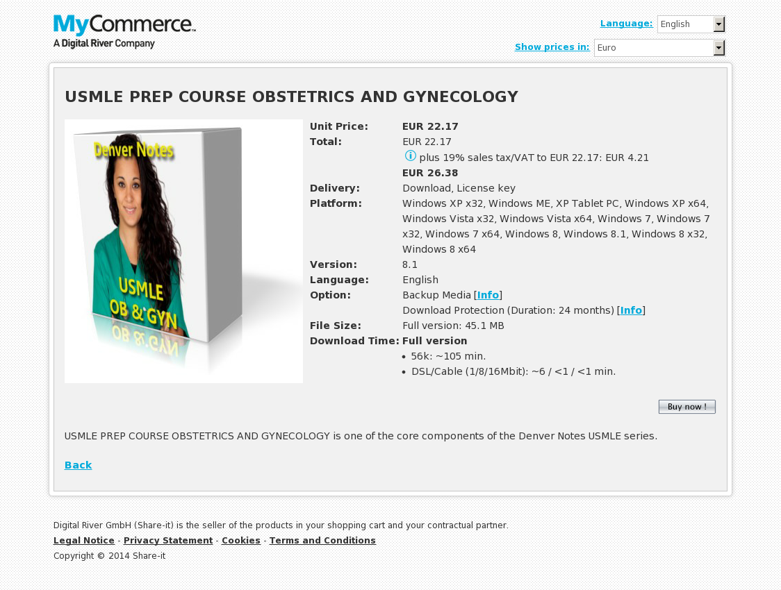 USMLE PREP COURSE OBSTETRICS AND GYNECOLOGY