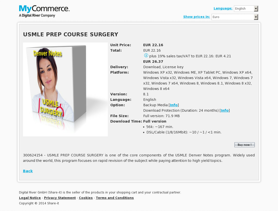 USMLE PREP COURSE SURGERY