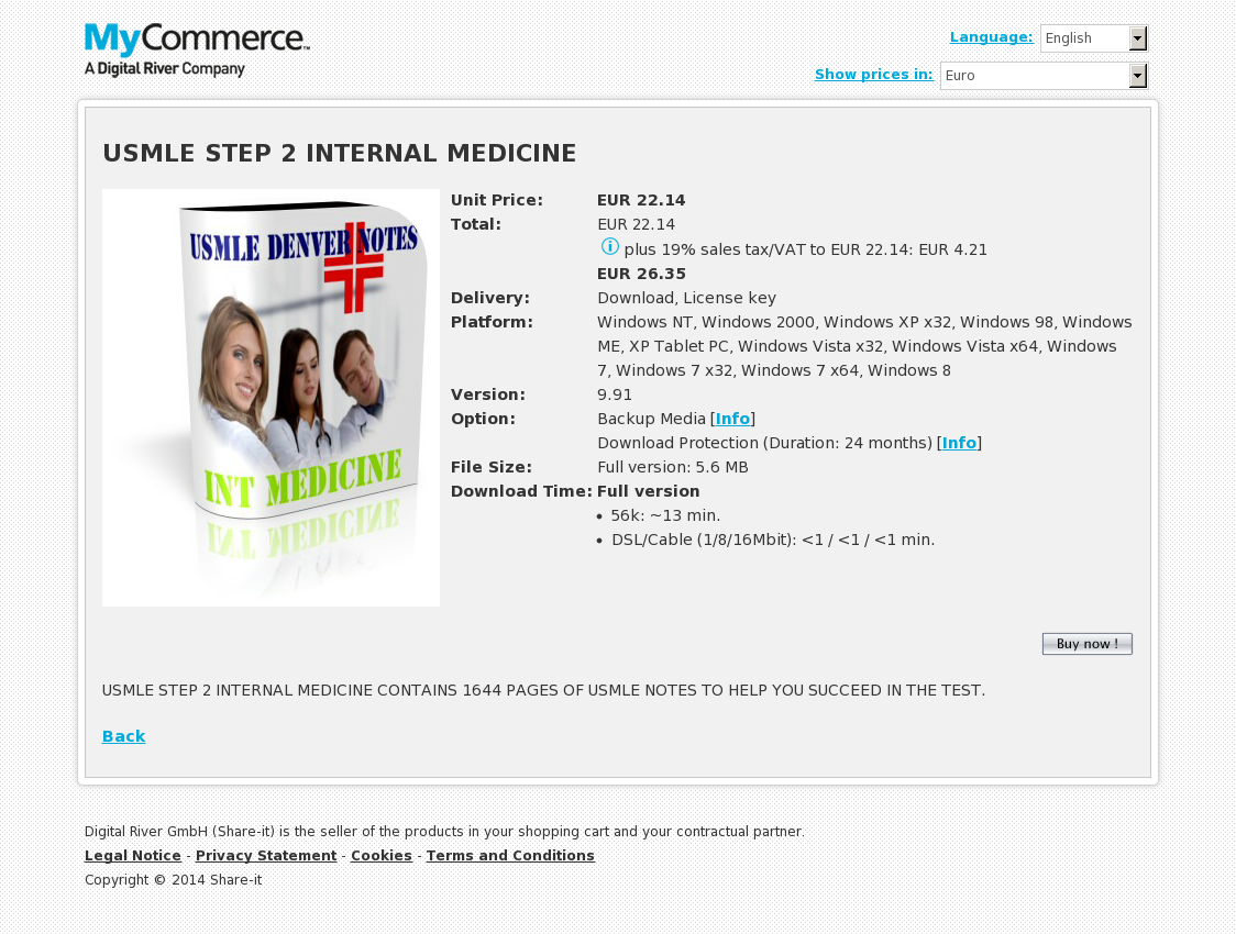 USMLE STEP 2 INTERNAL MEDICINE